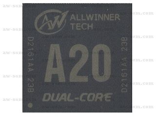 Allwinner Technology A20 SOC 5pk