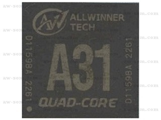 Allwinner Technology A31 SoC 5pk