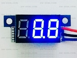 LED 0-99 VDC Voltmeter Display Module